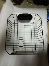 RUBBERMAID SMALL SINK DISH DRAINER BLACK NEW!