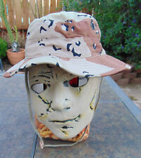 6 Color Desert Storm Chocolate Chip Camo Boonie hat, Sz. 7 1/4, new, free ship