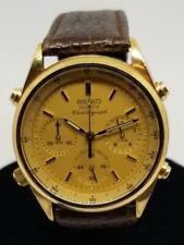 Vintage Seiko Quartz Automatic Chronograph Wrist Watch, 7A28-7029, Working.