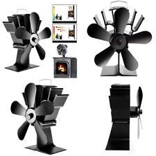 Ipree® 8.8Inch 5 Blades Fireplace Fan Wood Burner Stove Thermal Heat Power Fan