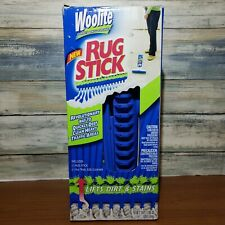 Woolite Rug Stick Carpet Heavy Traffic Cleaner Foam Bristle Brush Kit Bundle