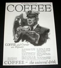 1920 OLD MAGAZINE PRINT AD, COFFEE- THE UNIVERSAL DRINK, THE BEST OF BEVERAGES!