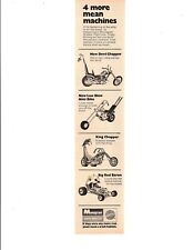 1971 MONOGRAM MODEL/HOBBY KITS ~ ORIGINAL SMALLER PRINT AD