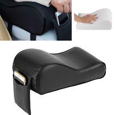 1PC Universal Car Center Console Armrest Box Cushion Pad Memory Foam PU Leather