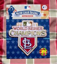 Official 2011 MLB World Series Champions Champs Patch St Louis Cardinals