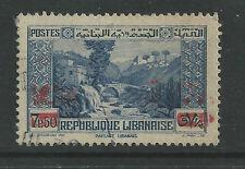 LEBANON # 150 Used SURCHARGED Overprint  ( 2 )