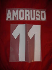 KIT AMORUSO 11 BIANCO X MAGLIA CALCIO TORINO KAPPA NUOVO STILSCREEN
