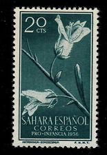 SPANISH SAHARA SCOTT# 78 MH  FLOWER TOPICAL