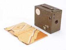KODAK FOX CO. RAINBOW HAWKEYE NO. 2A, BROWN + INCOMPLETE BOX/cks/198180