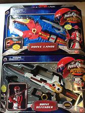 Power Rangers operation overdrive Defender & Lance MISB new sealed rare