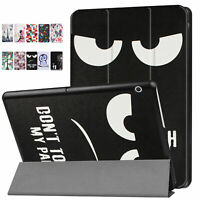 Pour Huawei Mediapad T3 10 9,6 Pouces Design Protection Housse Smart Cuir PU Sac