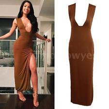 Unbranded V-Neck Party Wrap Dresses