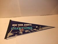 NEW 2008 New York Giants Super Bowl XLII Champions Pennant