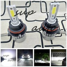 9007 HB5 CREE LED Headlights Bulb 55W 8000LM Kit High Low Beam 6000K Clear White