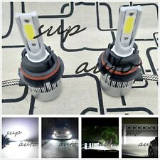 9007 HB5 6000K Bright White 8000LM CREE LED Headlight Bulbs Kit High & Low Beam