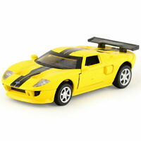 Ford GT Supercar 1:40 Scale Model Car Diecast Gift Toy Vehicle Collection Yellow