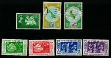 New Hebrides QE2 selection of 7 mint & used.