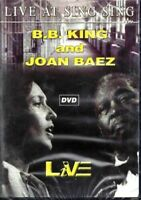 DVD B. B. KING AND JOAN BAEZ LIVE AT SING SING 2005 SIGILLATO