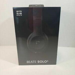Beats Solo3 Bluetooth Wireless On-Ear Headphones with Mic - Matte Black