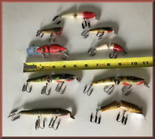 Vintage Lot of 9 Creek Chub, South Bend & other Fishing Lures