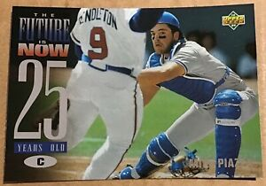 1994 MIKE PIAZZA UPPER DECK THE FUTURE IS NOW CARD #47 LOS ANGELES DODGERS