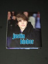 Justin Bieber Mini Hardcover Book by Sarah Parvis 2010