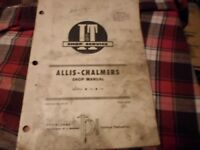 AC-27 I&T Shop Service Manual for Allis Chalmers Tractors Models 170 and 175
