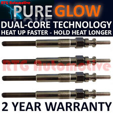 DIESEL HEATER GLOW PLUGS SET FITS NISSAN INTERSTAR PRIMASTAR 1.9 DCI X4 NEW