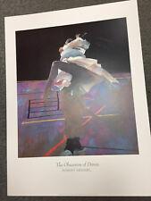 """ DANCERS ON A PURPLE FLOOR"" BY ROBERT HEINDEL (23 3/4 X 31 1/2 IN.) FROM 1996"