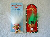 "Set of 2 "" NOS "" Russ Merry Little Troll Pins "" GREAT COLLECTIBLE SET """