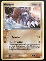 Carte Pokemon GROUDON 14/106 Rare EMERAUDE Bloc EX FR NEUF