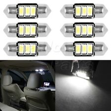 6X 31mm 5730SMD DE3175 DE3021 C5W CANBUS Error Free LED Bulb Interior Dome Light