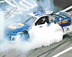 2020 Chase Elliott NAPA Auto Part Daytona Road Win Signed Auto 8x10 Photo COA #1