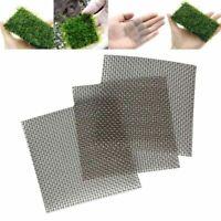 4 Size Stainless Steel Wire Mesh Pad Aquarium Fish Tank Plant Moss Net Aquascape
