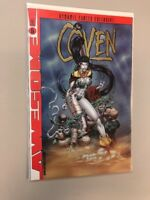 The Coven 5 Dynamic Forces Gold Foil Variant Exclusive SEALED COA Awesome Comics
