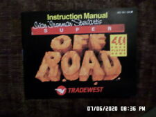Super Off Road (NES Nintendo) Instruction Manual Only.. NO GAME