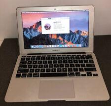 Apple macbook air 11 mid 2013 4GB 128GB SSD Good Condition