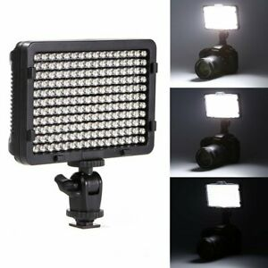 Selens GE-176 On Camera Video LED Light Dimmable For Canon DSLR Camera Camcorder