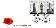 """Isle of Islay """"War Memorials"""" Remembrance 2019 FDC"""