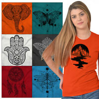 Spiritual Tees Shirt Graphic Symbol T Shirts For Ladies Womens Celestial Tshirts
