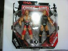 jakks tna kurt angle kennedy cross the line 2 pack wwe