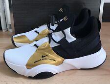 Women's Nike SuperRep Groove Dance Trainers Size UK 6.5 White / Gold / Black New