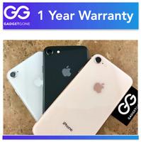 Apple iPhone 8 | AT&T - T-Mobile - Verizon & CDMA & GSM Unlocked | 64GB 256GB