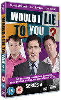 Would I Lie to You?: Series 4 DVD (2011) Rob Brydon cert 15 ***NEW***