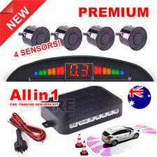 Car Parking Reverse Vehicle 4 Parking Sensors Backup New Radar Sound Alert AU