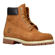Timberland Work Boots Men's 6 Inch Premium Waterproof Rust 72066 Size 10.5  W/L