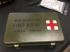 Army Military First Aid Kit General Purpose 6545-00-922-1200 M998 Hwwmv