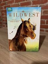 Wild West (DVD,2017) BBC Earth Meet The Animals of the Wild West Slip Cover