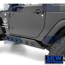 2 Door Rock Crawler Side body Slider Armor Rocker Guard for 07-17 Jeep Wrangler