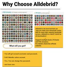 Alldebrid 8 Months Premium